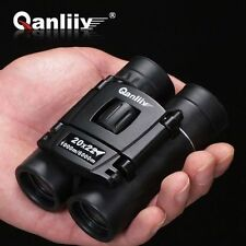 UK QANLIIY 20x22 Pocket-Size Mini Portable HD Night Vision Binoculars Telescope
