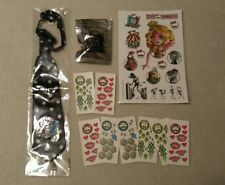 SDCC Monster High Promo Lot-Mattel Exclusives Ear Buds-Cosplay Tie-Tattoos Swag