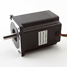 NEMA34 Stepper Motor – 1200oz/in 6amp Dual Shaft (KL34H2120-60-4B)