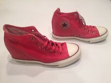 NEW WOMEN'S CONVERSE CHUCK TAYLOR PLATFORM LUX WEDGE SHOES SIZE 9  547192C $70