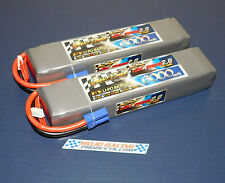 8S 6000mAh 70C-140C LiPo Graphene 2.0Battery Set-Up Pro Boat Zelos 48 Awesome!