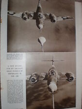 Photo article Patrick Hornridge keeps a Gloster Meteor airborne 12 hours 1949