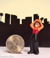 1- RARE Lil Homies Series # 5 Red Diablo Devil Cholo Diorama Figurine Figure