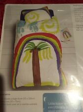 "Single Duvet Cover & Pillowcase Set Rainbow John Lewis ""BNWT"""