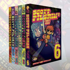 Scott Pilgrim Volume 1-6 Collection Bryan Lee O'Malley Books Set Pack Brand New