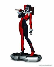 DC COMICS ICONS HARLEY QUINN STATUE, FACTORY SEALED NIB / MIB