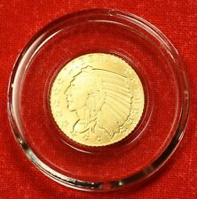 INCUSE INDIAN DESIGN 1/10 oz .9999% BU GOLD GREAT COLLECTOR COIN GIFT