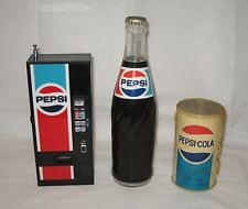 3 DIFFERENT VINTAGE PEPSI COLA AM TRANSISTOR RADIOS - Great Display Items!