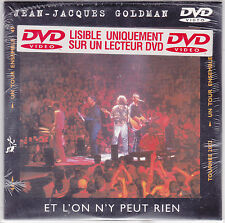 DVD  CARTONNE 3T JEAN JACQUES GOLDMAN ET L'ON N'Y PEUT RIEN  NEUF SCELLE