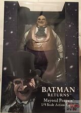 "MAYORAL PENGUIN (Danny DeVito) 1/4 Scale Neca BATMAN RETURNS 2016 18"" Inch"