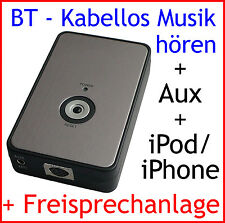 iPod iPhone Bluetooth Adapter VW Polo Golf 5 Touareg Touran Freisprechanlage