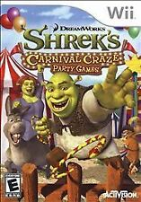 Shrek's Carnival Craze Party Games - Nintendo Wii Game--Brand new Free Shipping!