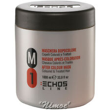 After Colour Mask M1 1000ml Echos Line ® Coloured Treated Hair Maschera Colorati
