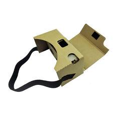 Google Cardboard V2 3D Virtual Gafas VR Valencia Fit 6Inch Teléfono + Diadema