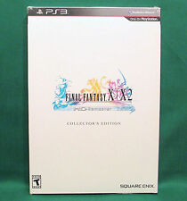 Final Fantasy X/X-2 HD Collector's Edition (PlayStation 3 PS3) SEALED FF 10/10-2