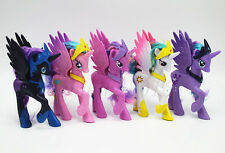 5pcs My Little Pony Princess Celes Luna Twilight Sparkle Celestia&Crown Toy Set