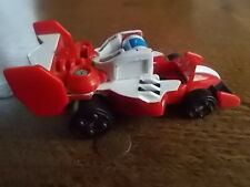 Vintage 2003 BANDAI Transformers Motor Racing Car 3.25 inches Spring Loaded VGC