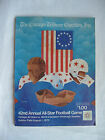 Vintage NFL 42nd Annual COLLEGE ALL STARS Vs PITTSBURGH STEELERS Program 1975