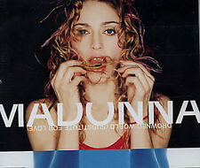 MADONNA CD DROWNED WORLD UK 3 Track MADE in UK SKY FITS