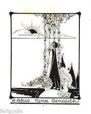 EX-LIBRIS de Renée BÉNÉDITH. Belgique.