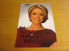 Lisa Cornwell News Anchor Autographed Signed 5X7 Photo Golf Channel Golf Central