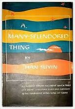 Han Suyin~A MANY-SPLENDORED THING~1952 1ST/DJ