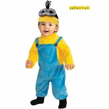 Minion Kevin Costume Toddler & Baby Girls Despicable Me Halloween Fancy Dress