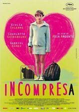 Affiche 120x160cm L'INCOMPRISE  2014 Argento, Giulia Salerno, Gainsbourg NEUVE