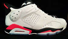 Air Jordan VI 6 Retro Low Infrared Size 13 White Black Red Mens Shoe 304401-123