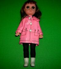 Suzie Sad Eyes Vtg 1960's doll Keane Suzie Slicker Original Fun World pre Blythe