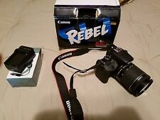 Canon EOS Rebel SL1 / EOS 100D 18.0 MP Digital SLR Camera - Black (Kit w/ IS...