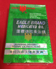 x3 Eagle Brand Medicated Oil 24 ml Relief Dizziness Sprains Rheumatic ache