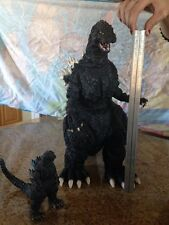 GODZILLA  17 Inch Tall 27 Inch Long VINYL MODEL FIGURE By Concorde USED TOY