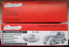 Somerville Models Ford E93A Popular Empty Box (pair) n Paperwork