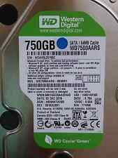 750 GB Western Digital WD 7500 AARS - 003bb1 | hbnnht 2cbb | 02 DEC 2010