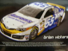 #55 BRIAN VICKERS 2014 AARONS AUTOGRAPHED FREE SHIPPING 1:24 ACTION