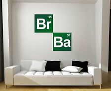 Breaking Bad Logo Squares Repositionable Graphic Decal Sticker-TV