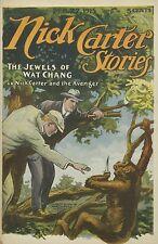 39 Nick Carter Stories Dime novels on DVD