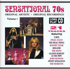 Sampler - Sensational 70's - Original Artists Recording Volume 1 CD ( 21 Track )
