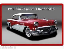 1956 Buick Special 2 Door Sedan Auto Refrigerator / Tool Box  Magnet