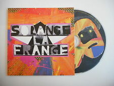 SOLANGE LA FRANGE : LOVE AFFAIR [ CD ALBUM PROMO PORT GRATUIT ]