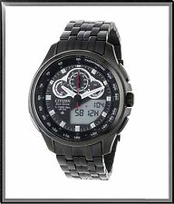 Citizen JW0097-54E Promaster Tachymeter  Eco Drive Black Dial Men's Watch $650