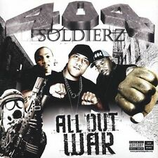 All Out War [PA] by 404 Soldiers (CD, Nov-2004, Immortal)