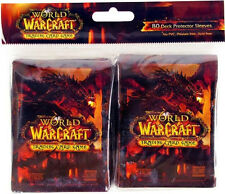 WOW WARCRAFT TCG : DEATHWING SLEEVES 80-COUNT PACK NEW