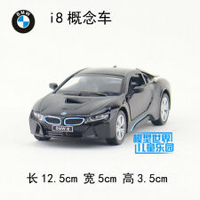 1:36 BMW i8 Alloy Diecast Car Model Toys Vehicle Collection B2883 black