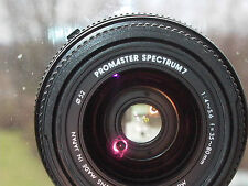 Promaster Spectrum 7 Yashica AF 35-80mm F:4 Zoom YES mount Caps filter working