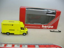 P639-0,5# Herpa H0 042444 Mercedes-Benz MB 207 D LKW Deutsche Post, NEUW+OVP