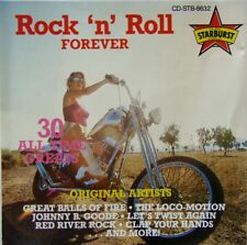 ROCK 'N' ROLL FOREVER - 30 ALL TIME GREATS - GREAT BALLS OF FIRE, LOCO-MOTION CD
