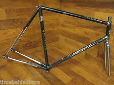 ORIGINAL VINTAGE COLNAGO MASTER PIU COLUMBUS GILCO FLUTED LUGGED STEEL FRAME SET