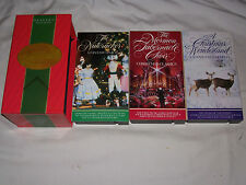 Reader's Digest - The Wonders of  Christmas (VHS, 3-Tape Set)